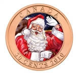 50c 2010 Lenticular Coin - Santa and The Red-Nosed Reindeer