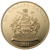 2011 $300 Provincial Coat of Arms: Manitoba - 14-kt. Gold Coin