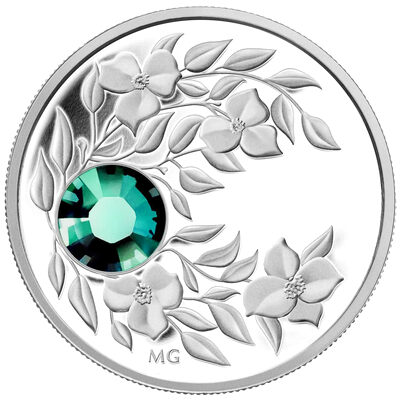 $3 2012 Fine Silver Birthstone Collection May