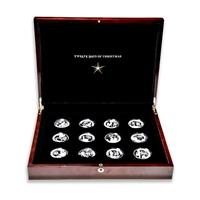 2010 $2 The Twelve Days of Christmas - 12 Coin Pure Silver Set