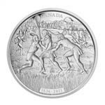 $250 2011 Fine Silver Kilogram Coin - 375th Anniversary of Lacrosse