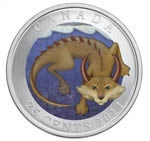 25c 2011 Coloured Coins - Canadian Mythical Creatures - Mishepishu