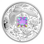 $15 2011 Fine Silver Coin - Maple of Happiness