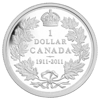 $1 2011 - Special Edition Proof Silver Dollar - 100th Anniversary of the 1911 Silver Dollar