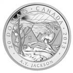 $20 2013 Fine Silver Coin - Group of Seven - A.Y. Jackson