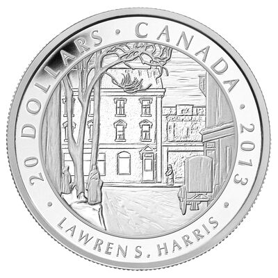 $20 2013 Fine Silver Coin - Group of Seven - Lawren S. Harris