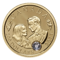 $200 2011 22-Karat Gold Coin - The Wedding Celebration of Their Royal Highnesses The Duke and Duchess of Cambridge