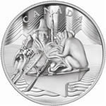 $500 2012 Fine Silver Coin - The Spirit of Haida Gwaii