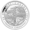 $20 2012 Fine Silver Coin - Group of Seven - Franklin Carmichael - Houses, Cobalt