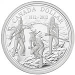$1 2012 Proof Silver Dollar - 200th Anniversary of the War of 1812