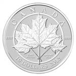 $10 2012 Fine Silver Coin - Maple Leaf Forever