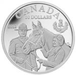 $20 2012 Fine Silver Queen's Visit to Canada