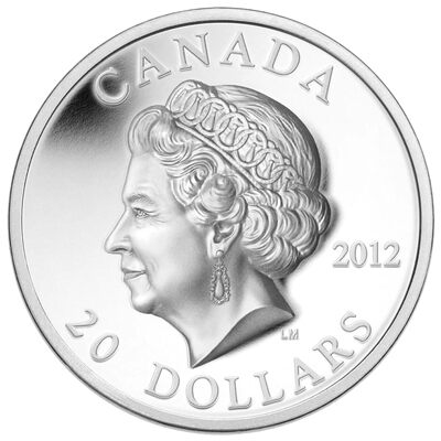 $20 2012 High Relief Queen's Diamond Jubilee