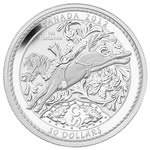 2012 $50 100 Years of the Calgary Stampede - Pure Silver Coin