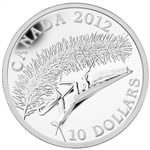 $10 2012 Fine Silver Coin - Praying Mantis - Canadian Geographic Photo Contest