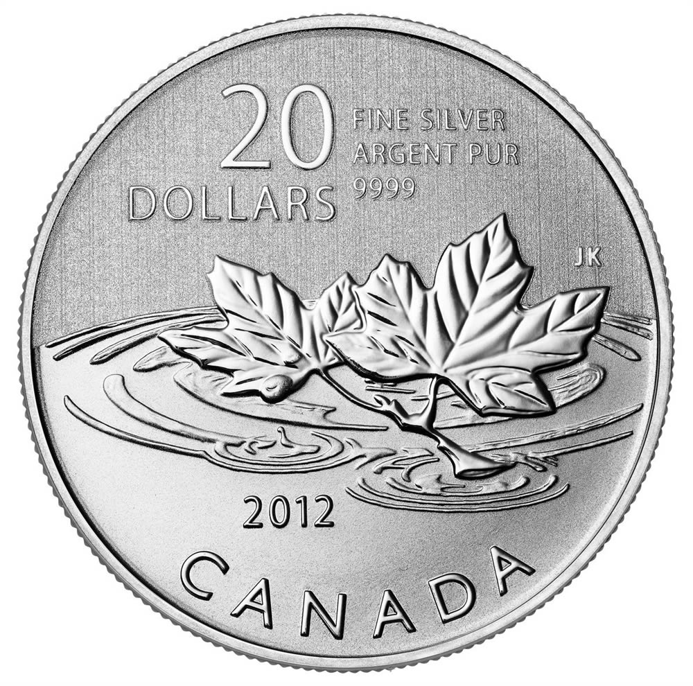 2012 $20 for $20 Farewell To The Penny - Pure Silver Coin