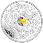 $15 2012 Fine Silver Coin - Maple of Good Fortune