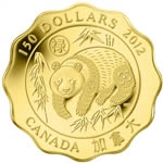 $150 2012 Pure Gold Coin - Blessing of Good Fortune