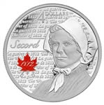 $4 2013 Fine Silver Coin - Heroes of 1812 - Laura Secord