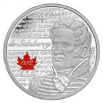 $4 2013 Fine Silver Coin - Heroes of 1812 - Charles Michel De Salaberry