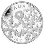 2012 $20 Fine Silver Coin - Holiday Snowstorm (Discounted)