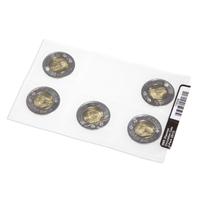 2012 $2 HMS Shannon Circulation Coin 5-Pack