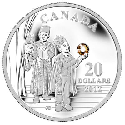 $20 2012 Fine Silver Coin - Three Wise Men