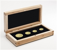 2013 Gold Fractional Coin Set - The Maple Leaf