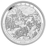 $250 2012 Fine Silver Coin - The War of 1812 - The Battle of Queenston Heights