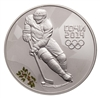2014 Russia Sochi 3 Roubles Silver Coin - Ice Hockey