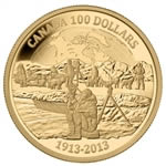$100 2013 14k Gold Coin - Arctic Expedition