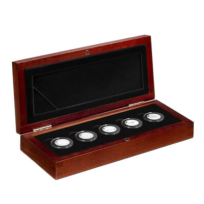 2012 Fine Silver 5 Coin Set - The Penny