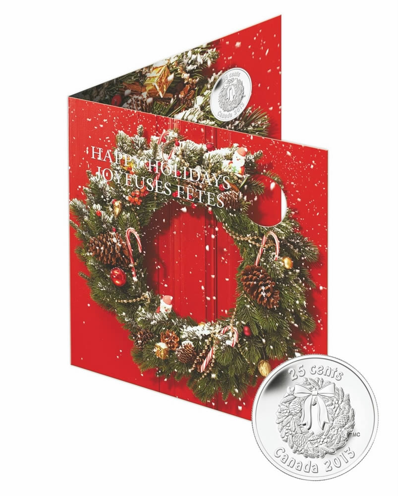 2013 Holiday Gift Set Royal Canadian Mint Coins