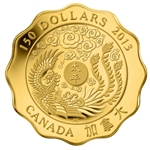 $150 2013 Pure Gold Coin - Blessing of Peace