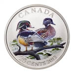 25c 2013 Coloured Coin - Ducks of Canada - Wood Duck