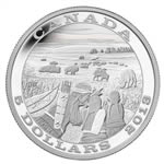 $5 2013 Fine Silver Coin - Tradition of Hunting - Bison