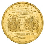 $2500 2013 Gold Coin - 250th Anniversary of the end of the Seven Years War