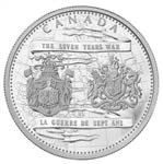 $250 2013 Silver Coin - 250th Anniversary of the end of the Seven Years War
