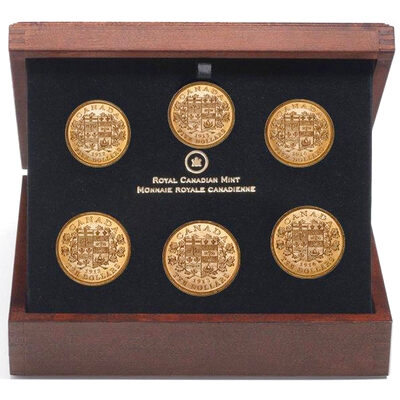 1912-1914 Premium Hand-Selected 6-Coin Set - Canada's First Gold Coins
