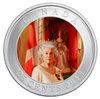 25c 2013 Coloured Coin - Her Majesty Queen Elizabeth II Coronation