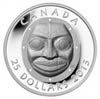 $25 2013 Fine Silver Coin - Grandmother Moon Mask