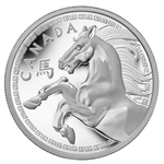 $250 2014 Fine Silver Coin - Year of the Horse