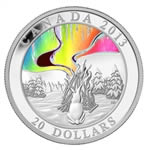 $20 2013 Fine Silver Coin - A Story of the Northern Lights: The Great Hare