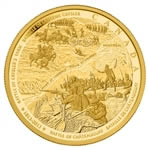 $2500 2013 Gold Coin - Battle of Chateauguay and Battle of Crysler