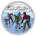 $20 2014 Fine Silver Coin - Pond Hockey