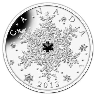 $20 2013 Fine Silver Coin - Winter Snowflake