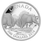 $300 2014 Platinum Coin - The Bison - Challenge for Power