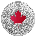 $20 2013 Fine Silver Coin - Maple Leaf Impression