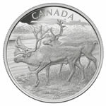 $250 2013 Silver Coin - The Caribou