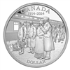$1 2014 Proof Silver Dollar - 100th Anniversary of the Declaration of the first World War